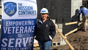 Local Army veteran spearheads program to rebuild other vet homes