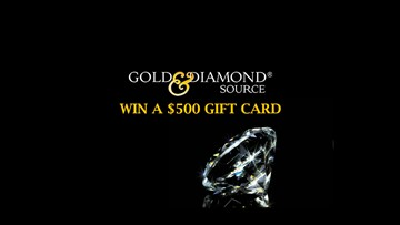 Win a $500 Gift Card From Gold & Diamond Source