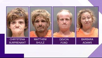 North Port Police: Panhandlers you may have helped, arrested on drug charges