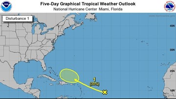 Tropical wave reminds people hurricane season isn't over yet