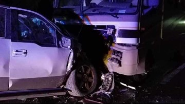 Wrong-way RV crash leaves man in serious condition