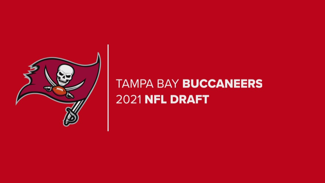 10 Tampa Bay's Evan Closky reacts to Bucs drafting QB Kyle Trask