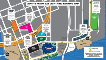 Amalie Arena moves Uber, Lyft pick-up locations to 'ease congestion'