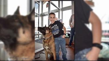 9-year-old Ohio boy is on mission to donate bulletproof vests to police K-9s
