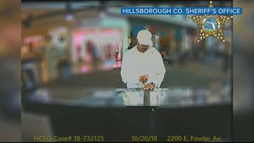Watch suspected jewelry thief in action: Man steals $3K worth at University Mall