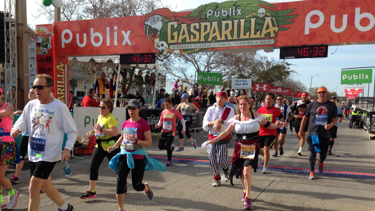 Tampa's Gasparilla Distance Classic to go virtual this year
