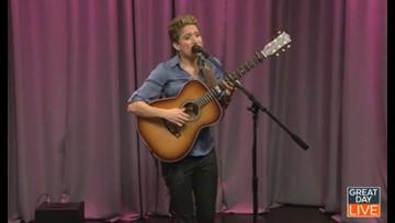 Fingerstyle guitarist Christie Lenee performs