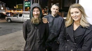 Homeless man and couple accused of faking story to raise $400K, report says