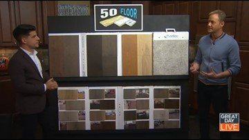 Countless flooring options for a great price