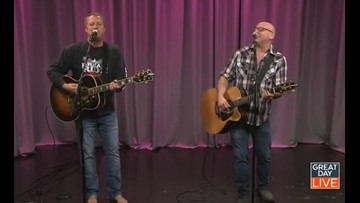 """All for You"": Sister Hazel performs mega hit"