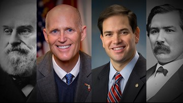 Florida to have 2 Republican senators for the first time since the Reconstruction era