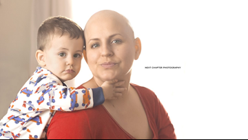 'There's nothing pink about breast cancer': Powerful photo project empowers women | wtsp.com