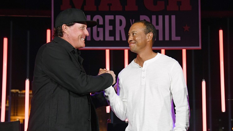 Providers giving refunds for Woods-Mickelson 'Match' after some saw it for free
