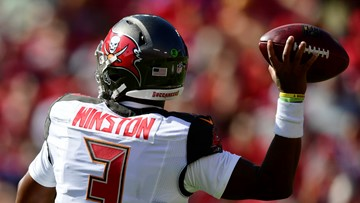 Jameis Winston throws 2 TDs, no interceptions as Bucs crush 49ers 27-9