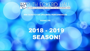 Win tickets to Ruth Eckerd Hall's 2018 - 19 Season!