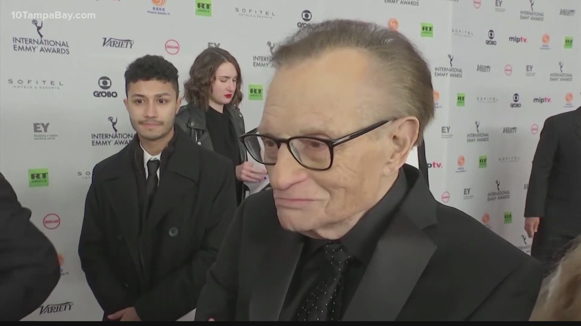 Larry King 87 Has Covid 19 And Is In Hospital Reports Wtsp Com