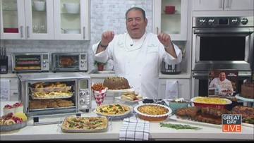 Emeril Lagasse shows off a must have kitchen device.