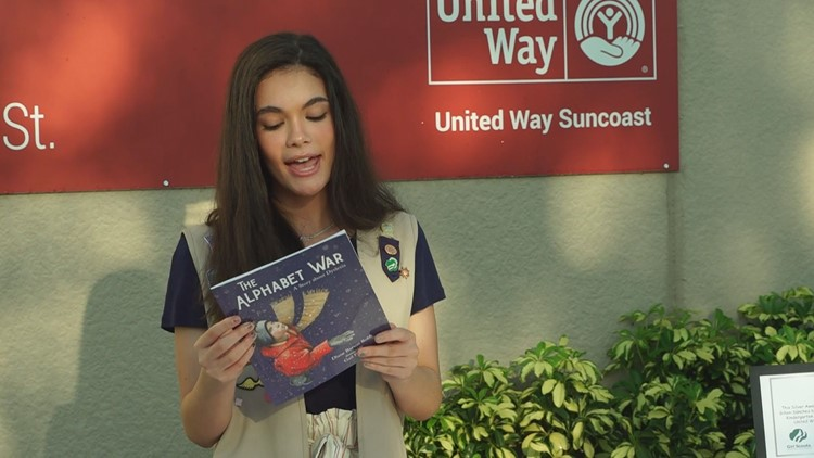 Teen with dyslexia creates helpful kits for children struggling to read