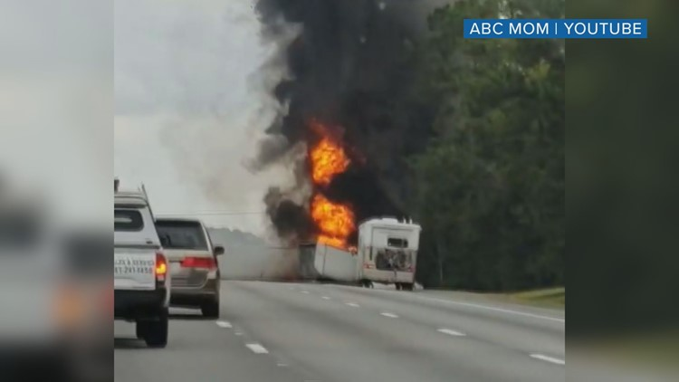 I 75 Traffic Map.7 People Dead Including Children In Fiery I 75 Crash Near
