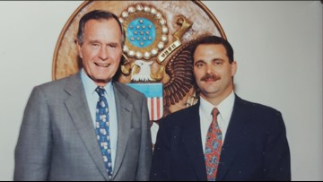 Between George H.W. Bush and a Secret Service agent, a friendship that lasted 'till the end
