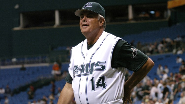 Former Rays manager Lou Piniella comes up one vote shy of Hall of Fame