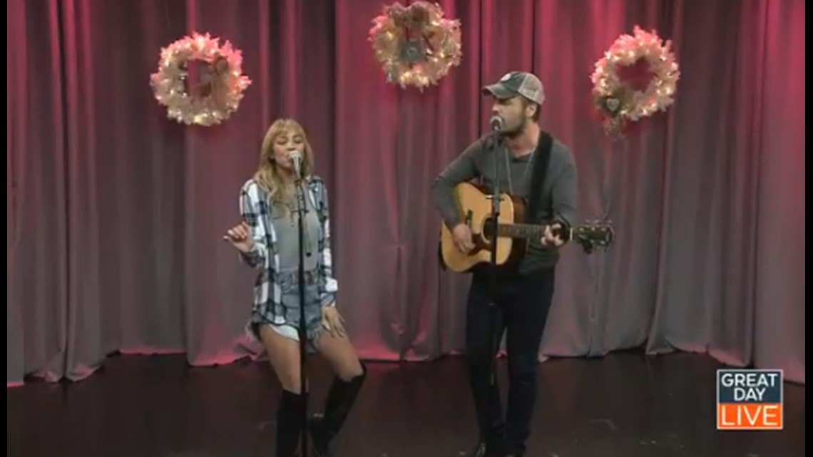 Country music's Brown & Gray talk falling in love