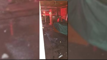 Storms worsen damage at Tampa church that caught fire