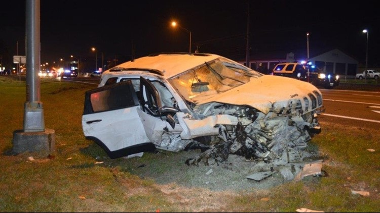 Impaired drivers seriously injured in wrong-way crash in