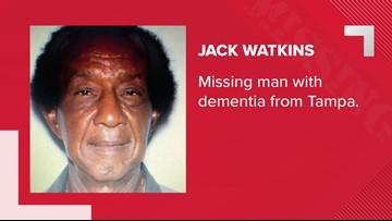 Tampa police seek missing Sulphur Springs man with dementia