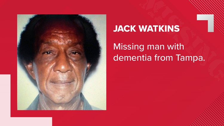 Tampa police locate missing Sulphur Springs man with dementia