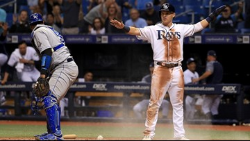 Tampa Bay Rays trade first baseman Jake Bauers to Cleveland Indians