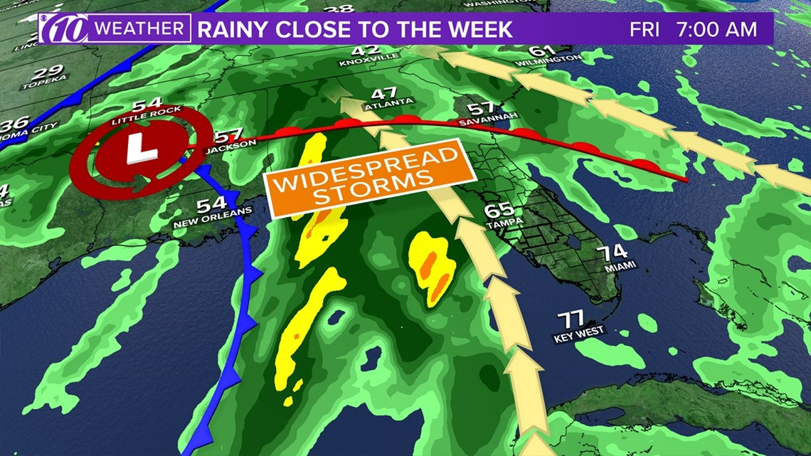 Photos: Severe weather possible for Tampa Bay region