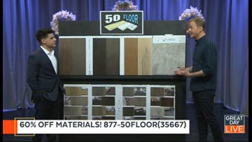 Great deals on new floors