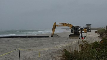 Weather delays Lido Key's beach renourishment for fifth time