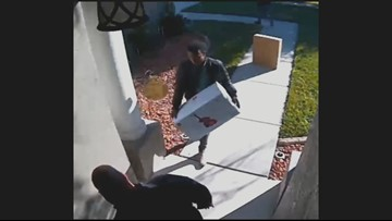 After porch pirates stole his children's gifts, his church replaced them