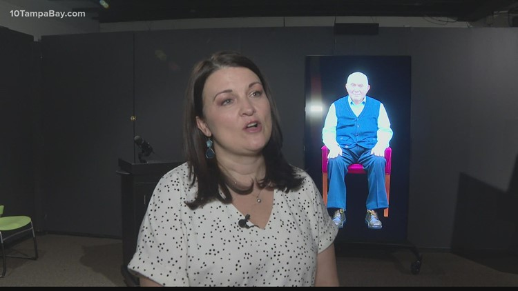 New interactive exhibit allows people to have conversations with Holocaust survivors
