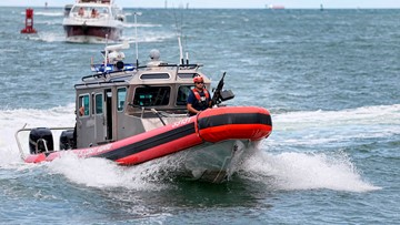 Coast Guard helps rescue Sarasota man from capsized boat