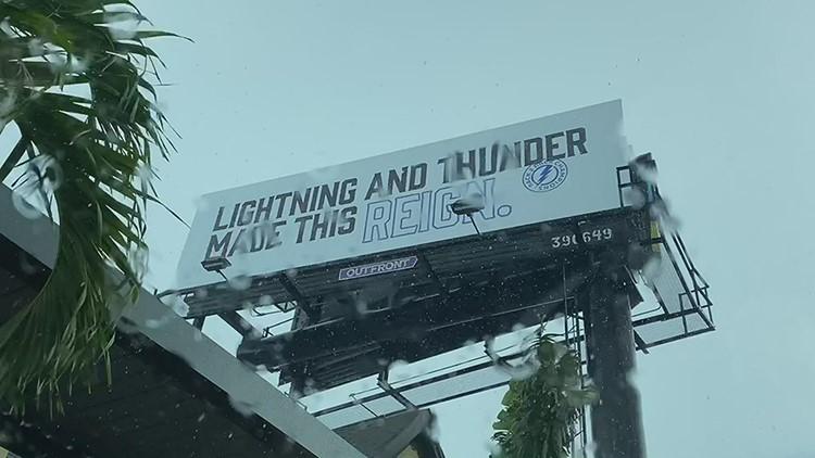 Lightning unveil new Stanley Cup billboard