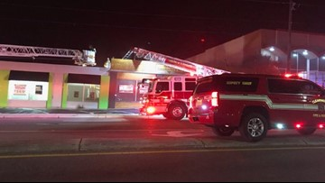 Firefighter hurt in Clearwater business fire