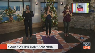 Fitness Friday: De-stress with yoga