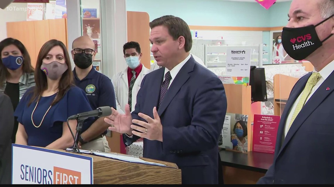 'Very, very soon': Gov. DeSantis says some police, teachers will be next in line for vaccines