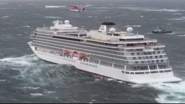 Tampa couple describes harrowing evening on Norway cruise ship