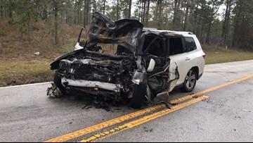 Fiery head-on crash kills 3 women in Citrus County