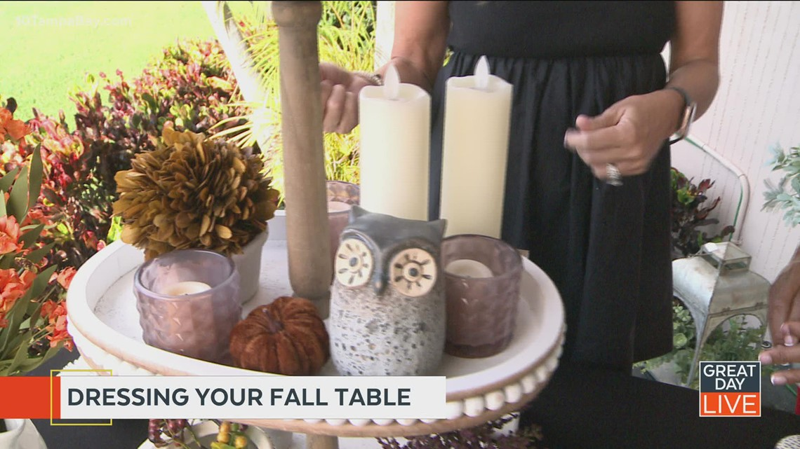 Simple Fall tablescapes for a festive home
