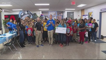 Mort Elementary gets $1,000 as the 10News School of the Week powered by Duke Energy Florida