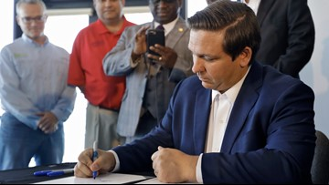 Gov. DeSantis signs bill to address red tide impacts, blue-green algae concerns