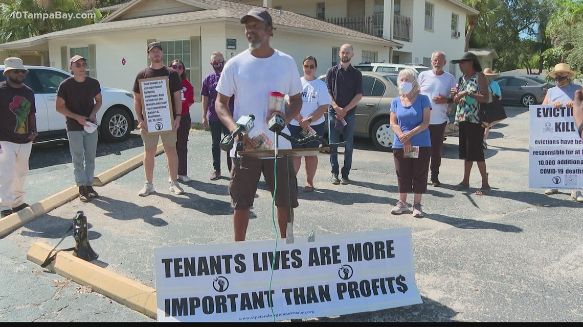 St. Pete mayoral candidate dismisses evictions after purchasing apartment building