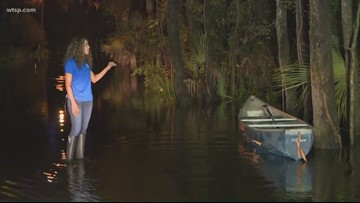 City of Tampa, Pasco County handing out sandbags amid flooding   10News WTSP