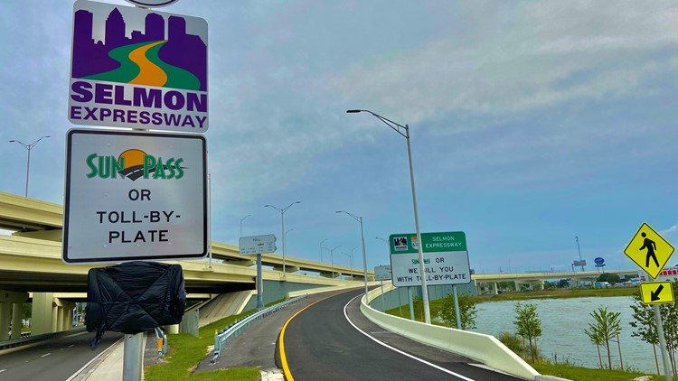 Selmon Extension opens to traffic after years of construction