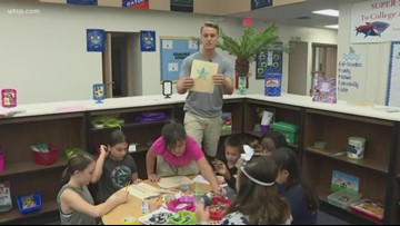 Sandy Lane Elementary is the 10News School of the Week powered by Duke Energy Florida